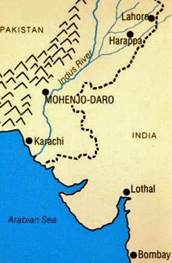 the excavations at harappa and mohenjo daro The site even at this time was used as a brick quarry by brick robbers working on the multan railway, in the same way that mohenjo-daro and kalibangan became quarries.