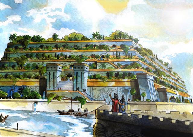 Clamorosa scoperta i giardini di babilonia non erano in for Giardini pensili