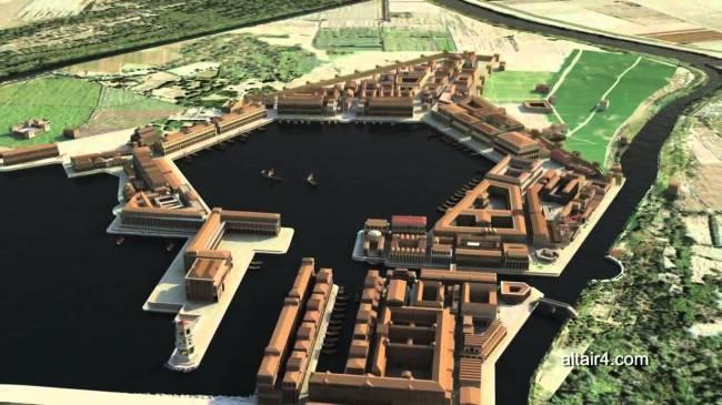 La parte nascosta di Ostia antica è più grande di Pompei