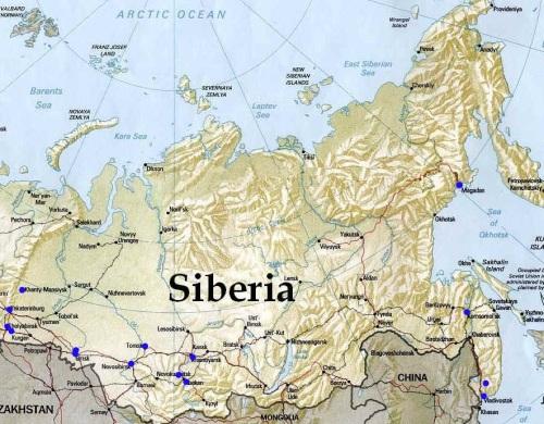 Cartina Russia Siberia.I Misteri Irrisolti Della Siberia Un Luogo Pieno Di Segreti La Macchina Del Tempo