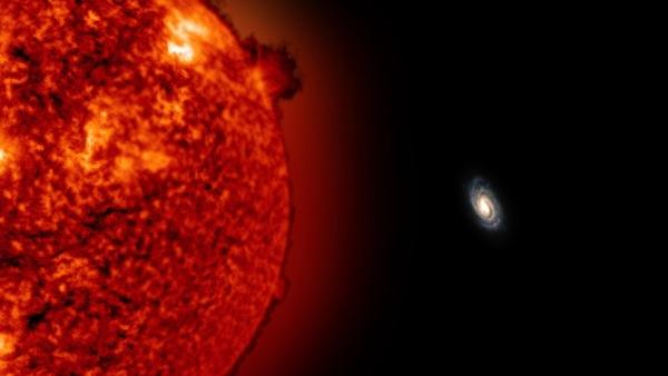 Stella distante Galassia