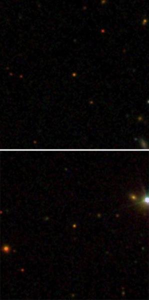 ULAS J0744+25 distant star