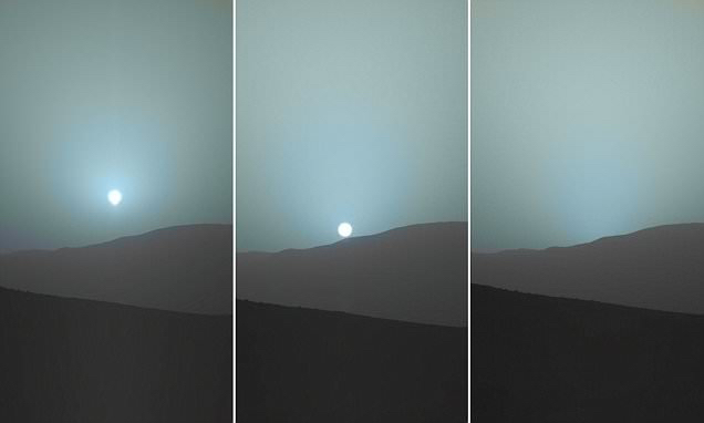 La luce: velocità distanze e colori Martesolae