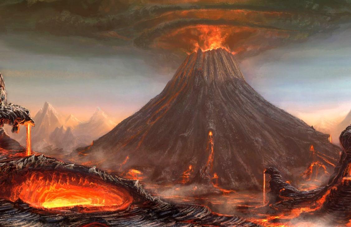 Le eruzioni vulcaniche hanno contribuito all'estinzione ...