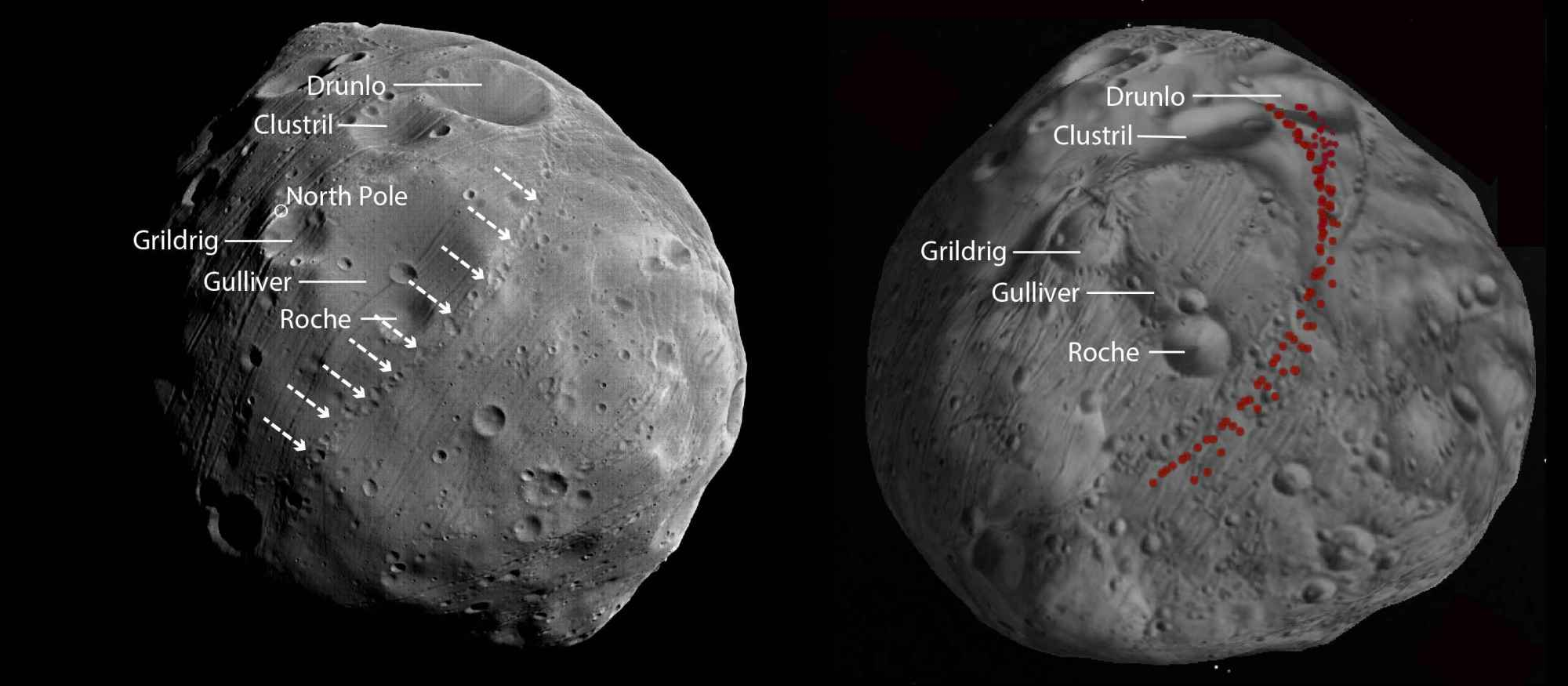 phobos-crater-chains