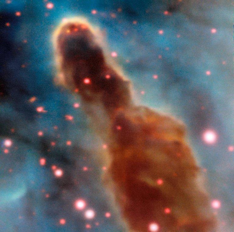 Region R18 in the Carina Nebula
