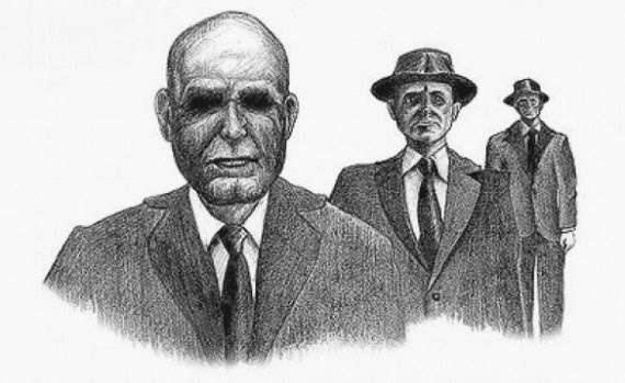 Men in Black Witness drawing