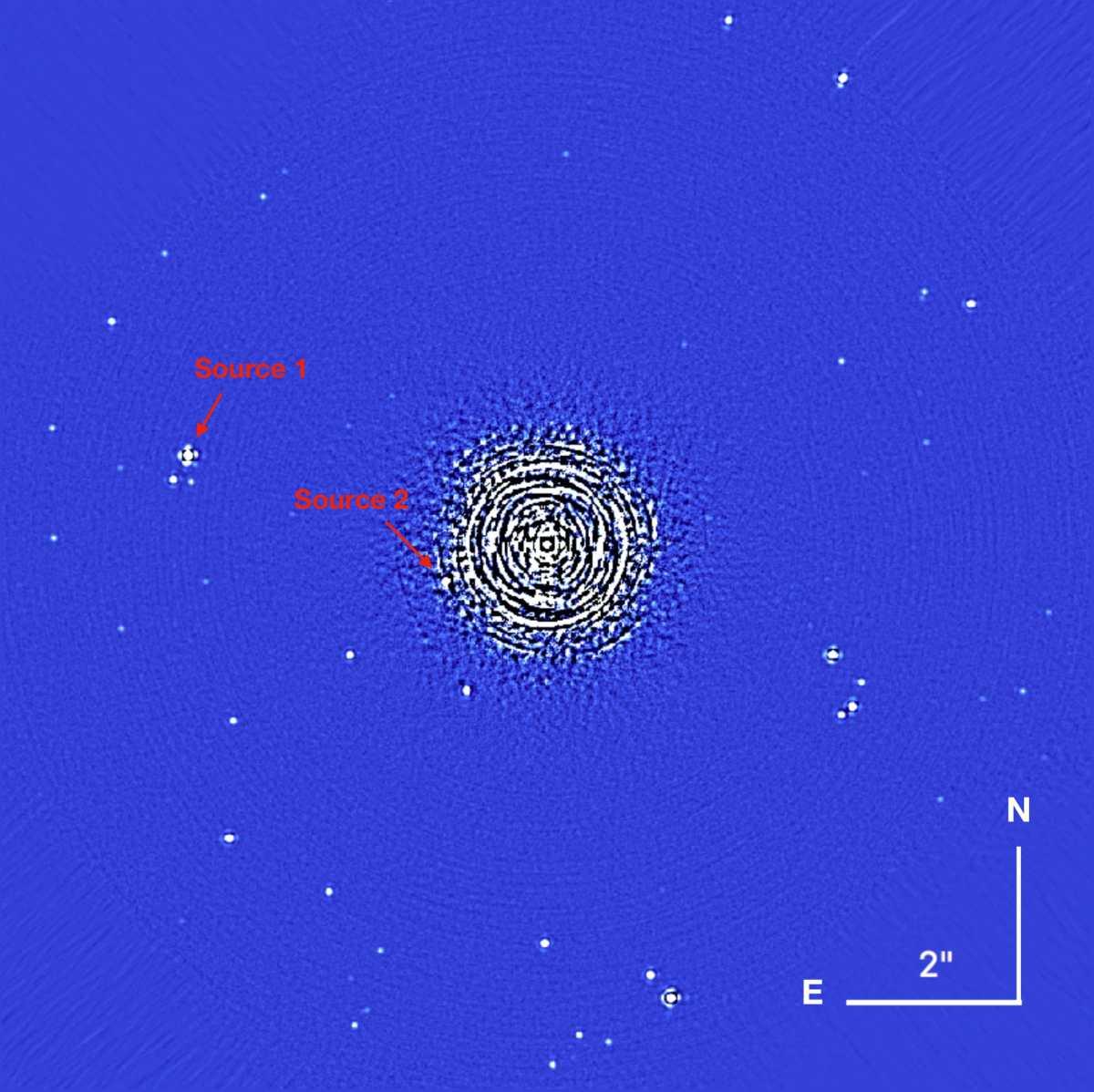 Proxima Centauri sulla bilancia di Einstein
